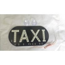 Anuncio De Taxi Brillante De Led!!!! Color Rojo