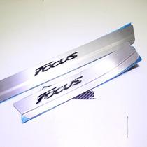 Estribos Embellecedores Aluminio Ford Focus 2013 2014 2015