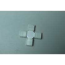Conector Cruz Para Tiras Led 5050rgb Unir En 3 Ángulo Recto