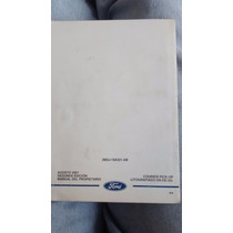 Ford Fiesta 2001, Manual De Porpietario