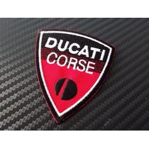 Parche Ducati Bordado Para Ropa Prenda De Vestir 1pza