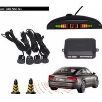 Sensores De Reversa 4puntos C Display Bocina Calidad Agencia