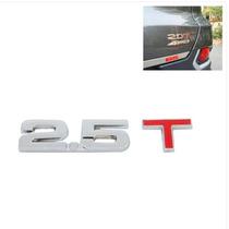 Decalque De Metal Cromado 3d 2.5t Para Carro