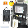 Veepeak Premium Coche Del Asiento Trasero Organizador 15 X2