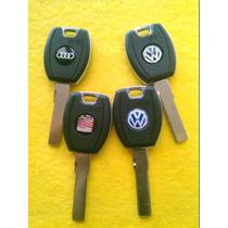 Llave Hueca O Carcasa Audi Seat Vw Con Logo Y Envio Gratis