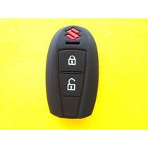 Funda De Silicon Control Remoto De Presenci Suzuki 2 Botones