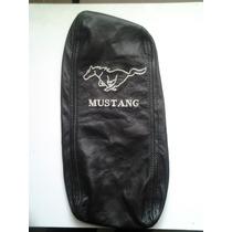 Mustang 94 Al 04 Funda Descansabrazo Guantera Piel Bordado
