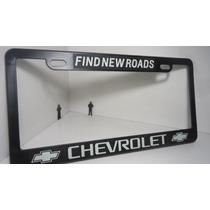 Chevrolet Porta Placas Plástico Precio Por Par