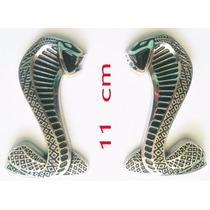 Shelby Cobra Par De Emblemas Laterales Plastico