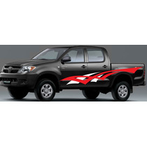 Sticker Lateral Tuning, Pick Up Calcomania, Calca Hilux