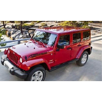 Paquete Stickers Vinil Para Jeep Wrangler Montain