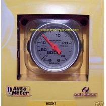 Medidor Presion-libras Boost Gauge Turbo Cirrus Vw Universal