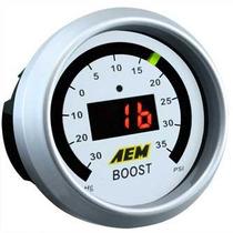 Aem Medidor De Boost Turbo Psi Aem Digital Original Nuevo