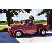 Tablero Instrumentos Ford F100 1957 A 1960 Analogo Negro