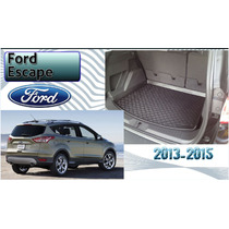 Tapete Cajuela Ford Escape 2013-15 3d Uso Rudo