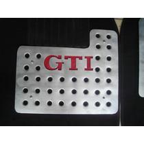 Posapies Gti Juego 5 Piezas Aluminio Troquelado