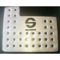 Posapies Personalizable Aluminio Troquelado 3 Piezas