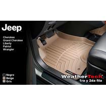 Tapetes Jeep Uso Rudo 1ra Y 2da Fila Weathertech Floorliner