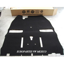 Tapete Alfombra Original Vw Sedan Esterilla Vocho Negro