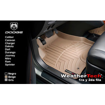 Tapetes Dodge Uso Rudo 1ra Y 2da Fila Weathertech Floorliner