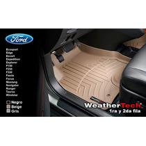 Tapetes Ford Uso Rudo 1ra Y 2da Fila Weathertech Floorliner