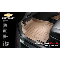 Tapetes Chevrolet Uso Rudo 1ra Y 2da Weathertech Floorliner