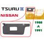 88-91 Nissan Tsuru Ii Visera Parasol Espejo Izquierdo Gris