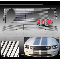 Combo Billet Mustang 05 06 07 08 09 + Billet Defensa Gt Ford