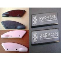 Vw Cabriolet Caribe Mk1 Karmann Emblemas Protectores Capota