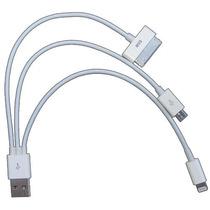 Cable Datos Carga Iphone 5 Ipad 4 Mini Galaxy Tab Micro Usb