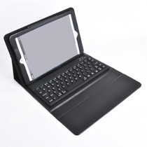 Funda Con Teclado Bluetooth Para Ipad Mini + Mica + Stylus