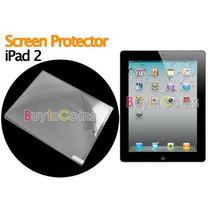 Mica Protector De Pantalla Para Ipad 2 Apple Transparente