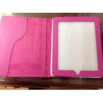 Lote 9 Fundas Color Rosa Para Ipad + Mica De Regalo