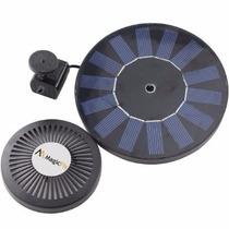 N Fuente Solar Flotante Cilindrica Para Estanques