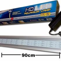Lampara Led 90cm Acuarios Plantas Acuaticas 13w Aluminio Co2
