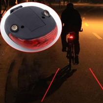 Laser Trasero Para Bicicleta, Seguridad, Aviso, Ciclismo Noc