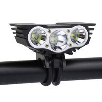 Lampara Bicicleta Solarstorm X3 Recargable 2200 Lumens Msi