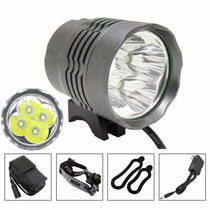 Lampara Bicicleta 5200 Lumens Luces Led Recargable Frontal