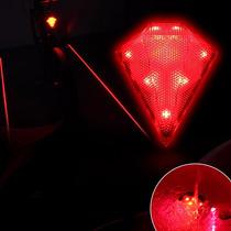 Lampara Bicicleta Led Laser Recargable Usb Luz Marcar Carril