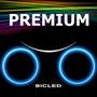 Bicled Premium Luz Bicicleta Rueda Led Sensor Sos Moto