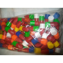 Gcg 1 Lote De 100 Mini Biles Lapiz Labial Plastico Chicleras