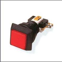Botón Luminoso Cuadrado Con Micro