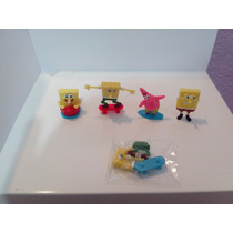 Figurines Miniatura, Maquina Chiclera, Bob Esponja Original.