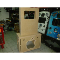 Mueble Para Rockola Tipo Ipod Desmontable Natural A $1350