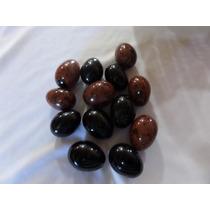 Huevos De Obsidiana 4 Cm Para Terapia