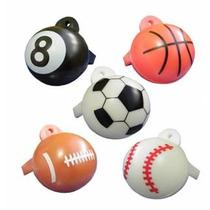 Juguete Miniatura Para Maquina Chiclera, Silbatos Deportivos