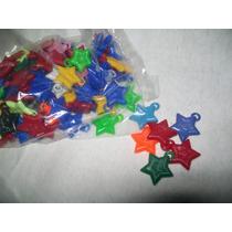 Gcg Lote De Mini Estrellas 100 Pzas Para Chicleras