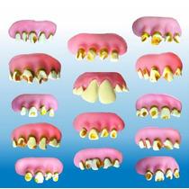 Dentadura. Juguete Miniatura Para Maquina Chiclera No Toxica
