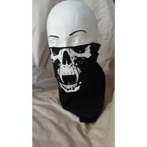 Cubreboca Calavera Lote De 5 Pz Paliacate Mascara Bozal Moto