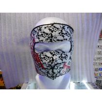 Mascara De Neopreno Diseño Calavera West Coast Choppers